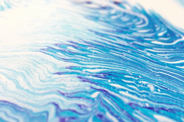 (CreativeWork) Abstract - Dreamy Spirit Visions by Michelle Tracey. Acrylic Paint. Shop online at Bluethumb.