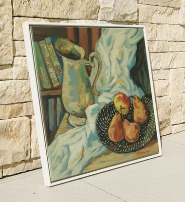 (CreativeWork) Apple of Discord by Tetyana Khytko. Oil Paint. Shop online at Bluethumb.