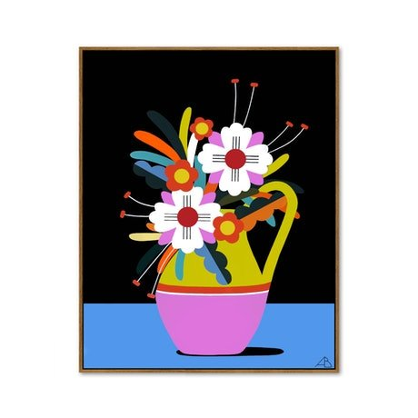 (CreativeWork) Still Life No 95 - Bloom Collection  by Andria Beighton. Acrylic Paint. Shop online at Bluethumb.
