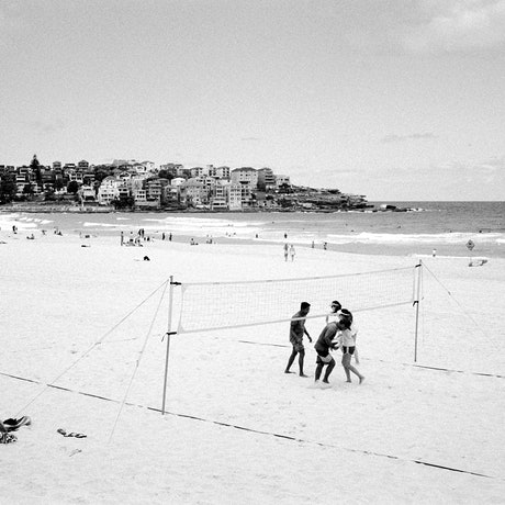 (CreativeWork) Bondi Volleyball I (FRAMED, LARGE) Ed. 1 of 100 by Connor Merrison. Photograph. Shop online at Bluethumb.
