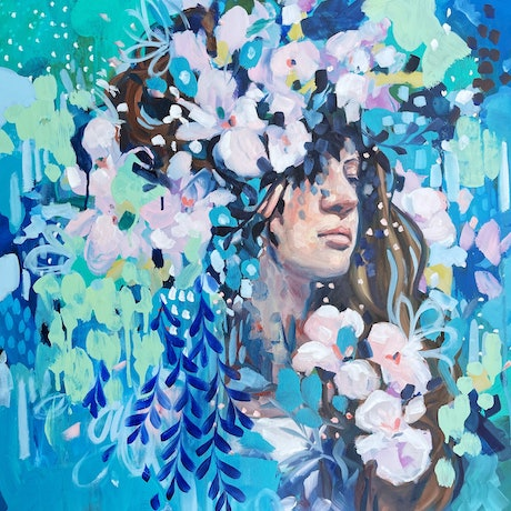(CreativeWork) Breathe In by Clair Bremner. Oil Paint. Shop online at Bluethumb.