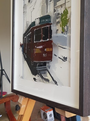 (CreativeWork) 3D Perspex  The classic 925 by Chris Cox. Acrylic Paint. Shop online at Bluethumb.