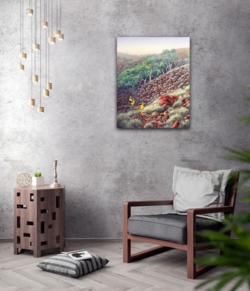(CreativeWork) Southern Edge by Tania Smith. Oil Paint. Shop online at Bluethumb.