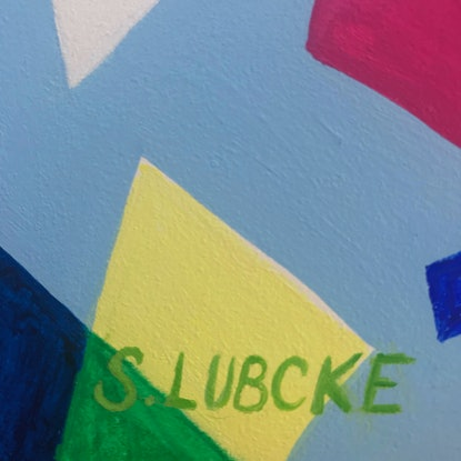 (CreativeWork) The Shock of the New by Sarah Lubcke. Mixed Media. Shop online at Bluethumb.