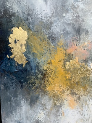 (CreativeWork) Almond & Toffee Parfait  by Lisa Wisse-Robinson. Mixed Media. Shop online at Bluethumb.