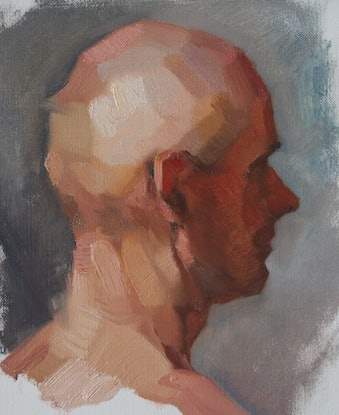 (CreativeWork) Oil Sketch  - Alla Prima by Colleen Stapleton. Oil Paint. Shop online at Bluethumb.