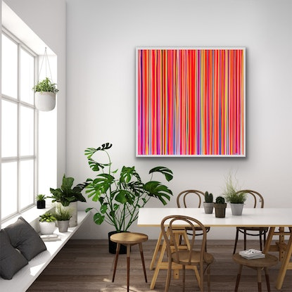 (CreativeWork) CANDYLAND  by Poppy Key. Acrylic Paint. Shop online at Bluethumb.