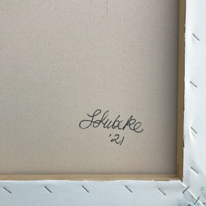 (CreativeWork) Hope Fulfilled by Sarah Lubcke. Acrylic Paint. Shop online at Bluethumb.