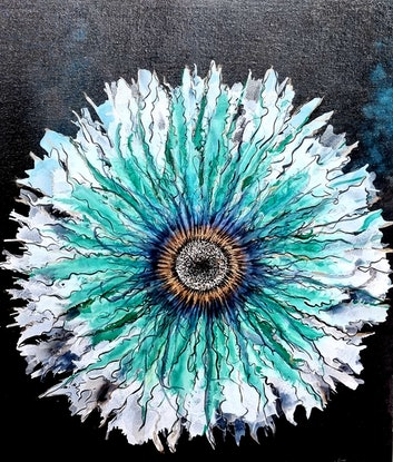 (CreativeWork) Daisy  by Sharyn Sims. Other Media. Shop online at Bluethumb.