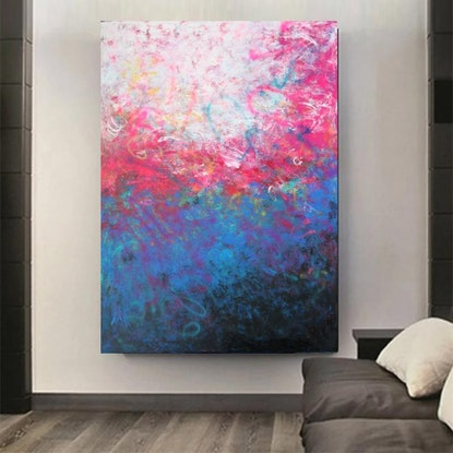 (CreativeWork) Abundantly Yours  by Belinda Nadwie. Oil Paint. Shop online at Bluethumb.