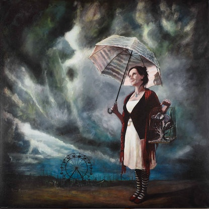 (CreativeWork) 'Storm Carnivale' Limited Edition Fine Art Print  Ed. 2 of 20 by Ross Morgan. Print. Shop online at Bluethumb.