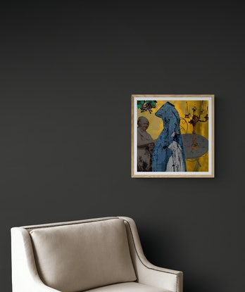 (CreativeWork) Off to Tea Ed. 1 of 100 by Lana Nelson. Print. Shop online at Bluethumb.