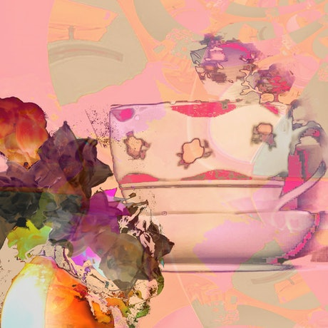 (CreativeWork) Pomegranate Punch Ed. 1 of 100 by Lana Nelson. Print. Shop online at Bluethumb.