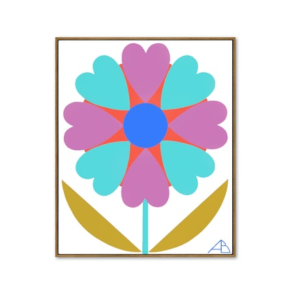 (CreativeWork) Solo Bloom No 3 by Andria Beighton. Acrylic Paint. Shop online at Bluethumb.