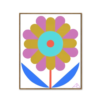 (CreativeWork) Solo Bloom No 4 by Andria Beighton. Acrylic Paint. Shop online at Bluethumb.