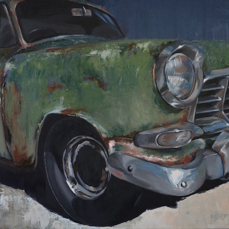 (CreativeWork) RUST'N feat. 1958 FC Holden Ed. 2 of 50 by Rosa Fedele. Reproduction Print. Shop online at Bluethumb.