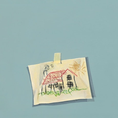 (CreativeWork) Molly Moores Has A House Like Yours (title page)  by Ross Morgan. Acrylic Paint. Shop online at Bluethumb.
