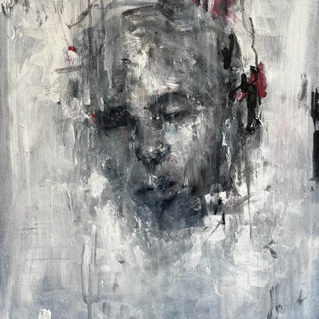 (CreativeWork) UNTITLED  by Victoria ter Kuile. Acrylic. Shop online at Bluethumb.