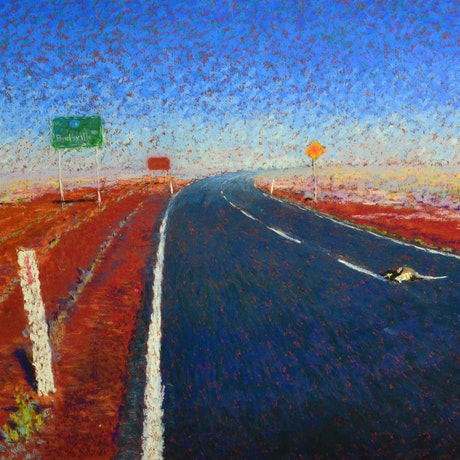 (CreativeWork) The Road Goes Ever On by Ian Reilly. Drawings. Shop online at Bluethumb.