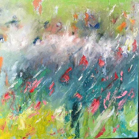 (CreativeWork) Memories by Tania Weekes. Oil Paint. Shop online at Bluethumb.