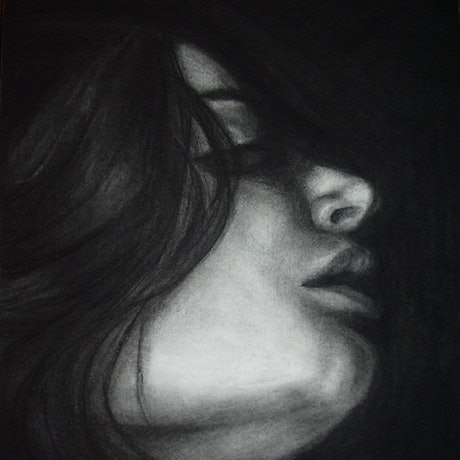 (CreativeWork) Anticipation by Yvette Colton. Drawings. Shop online at Bluethumb.