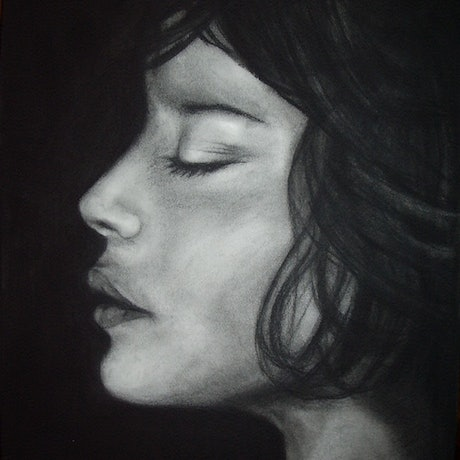 (CreativeWork) Contemplation by Yvette Colton. Drawings. Shop online at Bluethumb.