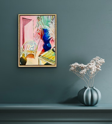 (CreativeWork) Noon by Alison Pilcher. Acrylic Paint. Shop online at Bluethumb.