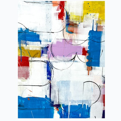 (CreativeWork) *ON SALE* Early Summer  by Brendon Mogg. Mixed Media. Shop online at Bluethumb.