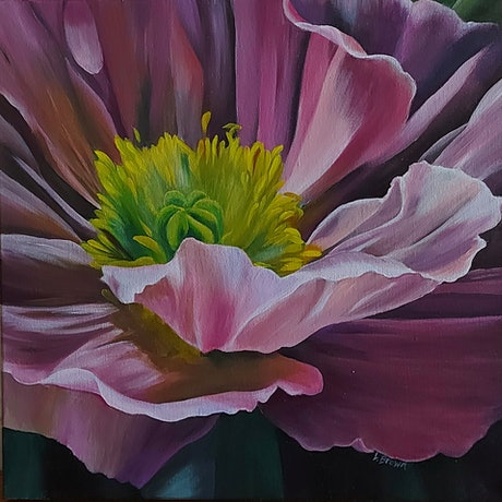 (CreativeWork) SPRING SPLENDOR by Lynette Brown. Acrylic Paint. Shop online at Bluethumb.