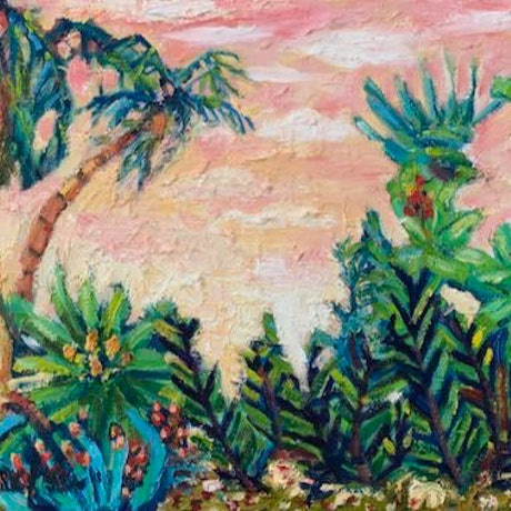(CreativeWork) Natures Adventure by Wendy Bache. Oil. Shop online at Bluethumb.