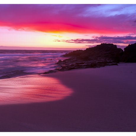 (CreativeWork) Blairgowrie Sunset by Thomas Dassy. Print. Shop online at Bluethumb.