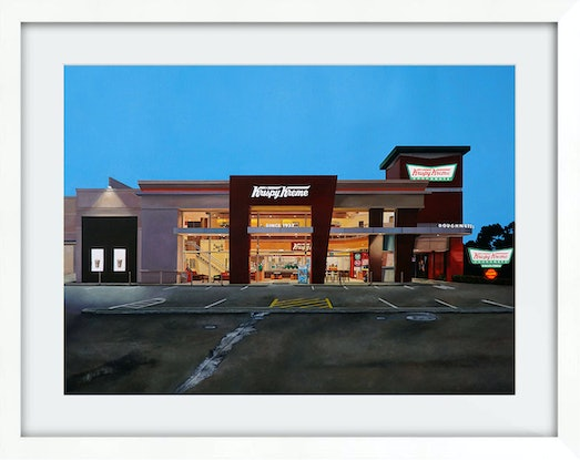 (CreativeWork) 'Hole Foods' (Framed) Ed. 8 of 100 by Donovan Christie. Reproduction Print. Shop online at Bluethumb.