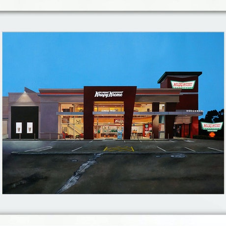 (CreativeWork) 'Hole Foods' (Framed) Ed. 8 of 100 by Donovan Christie. Print. Shop online at Bluethumb.