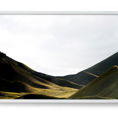 (CreativeWork) Lindis Pass, New Zealand Ed. 1 of 50 by Elizabeth Hosking. Photograph. Shop online at Bluethumb.