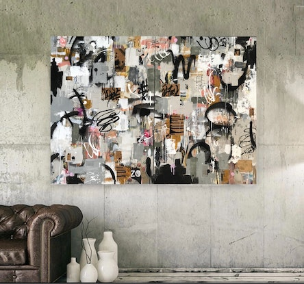 (CreativeWork) 3D RED BRICK WALLPAPER  by Cold Ghost. Mixed Media. Shop online at Bluethumb.