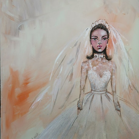 (CreativeWork) White and beige by Luisa Manea. Acrylic Paint. Shop online at Bluethumb.