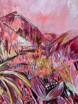 (CreativeWork) Let the journey begin  by Emma Hergstrom. Acrylic Paint. Shop online at Bluethumb.