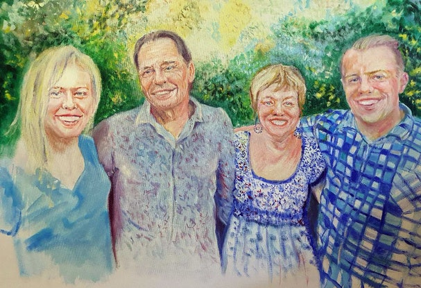 (CreativeWork) Commision by Gerard Mignot. Oil Paint. Shop online at Bluethumb.