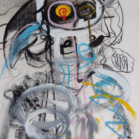 (CreativeWork) This is Birdman by STEPHEN Homewood. Mixed Media. Shop online at Bluethumb.
