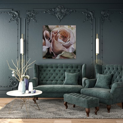(CreativeWork) OPULENCE by Lynette Brown. Acrylic Paint. Shop online at Bluethumb.