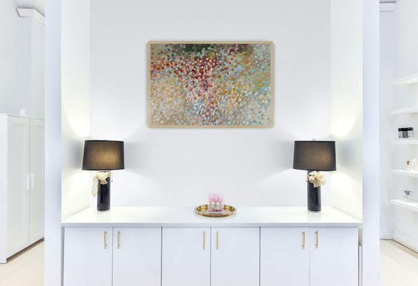 (CreativeWork) Sweet Dreams  by Theo Papathomas. Acrylic Paint. Shop online at Bluethumb.