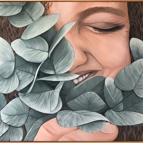 (CreativeWork) Pure by Cath Knijnenburg. Acrylic Paint. Shop online at Bluethumb.