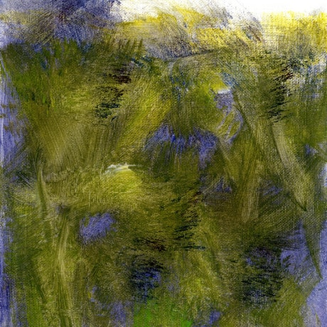 (CreativeWork) Heathland by Cecilia Bell. Acrylic Paint. Shop online at Bluethumb.