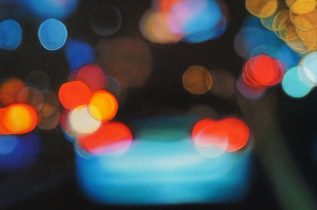 (CreativeWork) Caught in Traffic by Todd Simpson. Acrylic Paint. Shop online at Bluethumb.