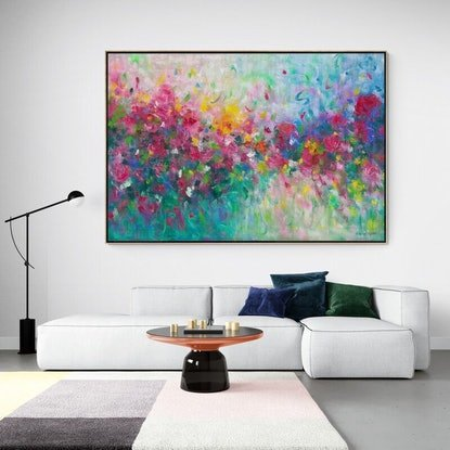 (CreativeWork) The Way You Love Me - Limited Edition Framed Print - 200cm x 135cm  Ed. 1 of 100 by Belinda Nadwie. Print. Shop online at Bluethumb.