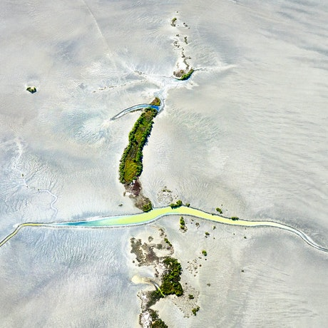 TIdal creek and vegetation in the Northern Territory