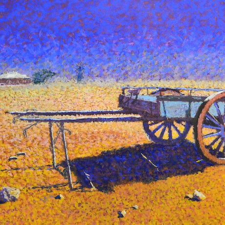 (CreativeWork) Cart at Betoota by Ian Reilly. Drawings. Shop online at Bluethumb.