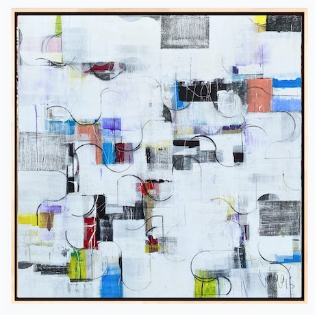 (CreativeWork) *ON SALE* Winter morning walk   by Brendon Mogg. Mixed Media. Shop online at Bluethumb.