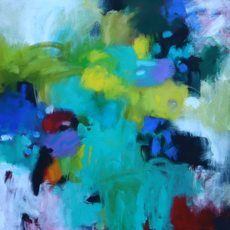 (CreativeWork) I dreamt of forests by Susan Lhamo. Acrylic Paint. Shop online at Bluethumb.