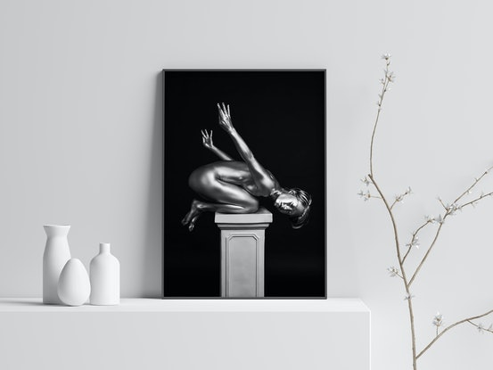 (CreativeWork) Mona:  I will come up with my own wings Ed. 1 of 50 by Elena Levkovskaya. Photograph. Shop online at Bluethumb.